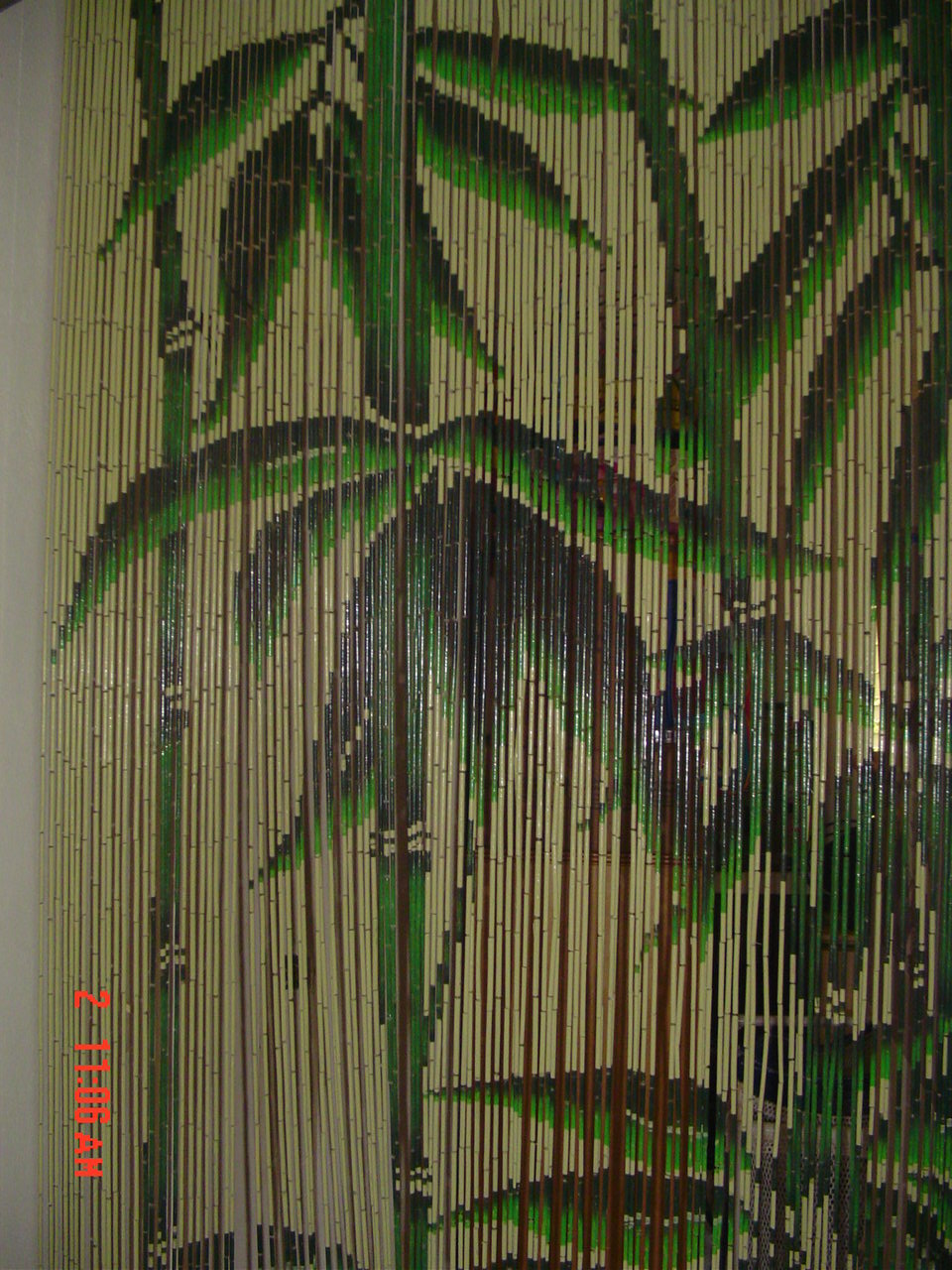 Hawaii Surfer bamboo Curtain - Paper Lanterns : Chinese Paper