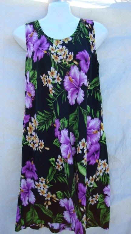 Hoaloha Kaimuki Hawaiian Dress *close out