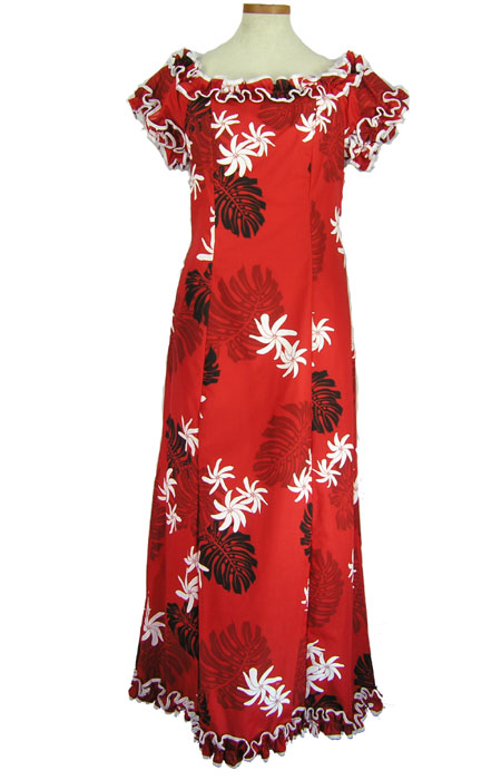 Plus size hawaiian dresses with sleeves