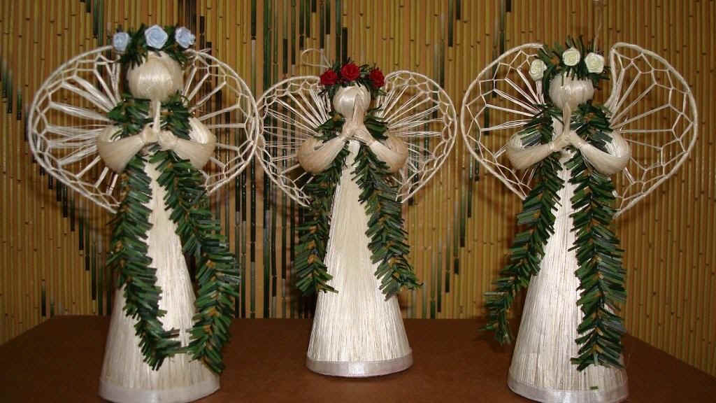authentic hawaiian angel doll ornaments and decoration for party favors and christmas tree ornaments from hawaii made to order